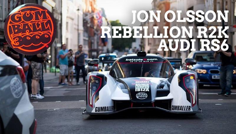 BestDrive - Jon Olsson Rebellion R2K Audi RS6 Gumball 3000 2014