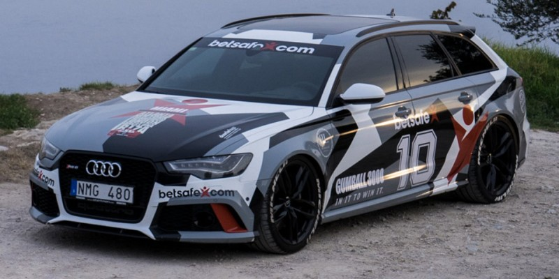 BestDrive - Jon Olsson voiture support Gumball 3000 2014