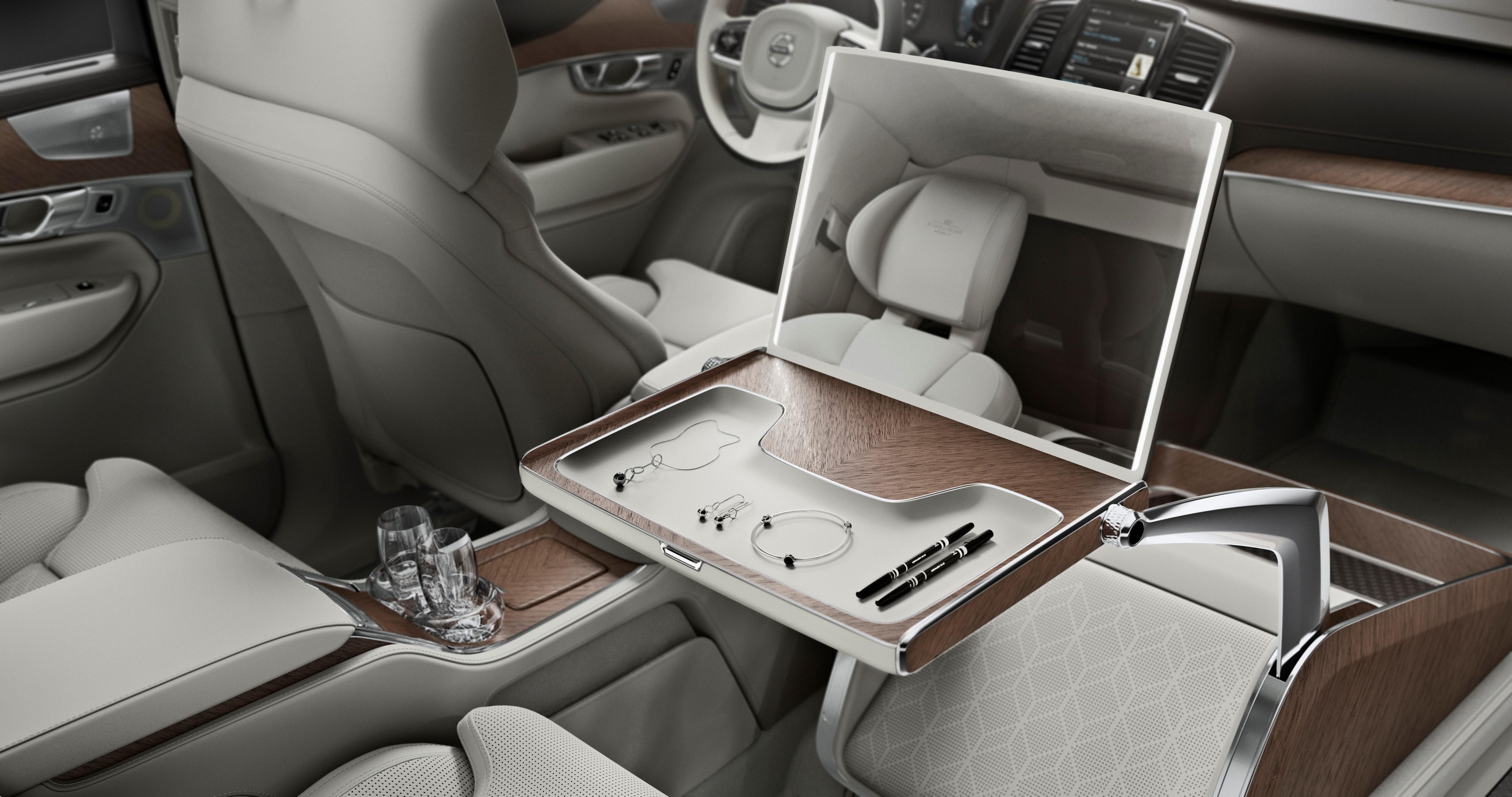 Volvo xc90 lounge console la limousine su doisebestblog for Interieur xc90