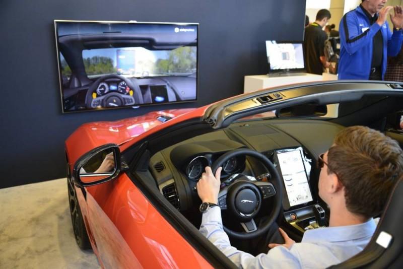 BestDrive -Jaguar Land Rover eye tracking system pour essuie-glaces CES Las Vegas 2015