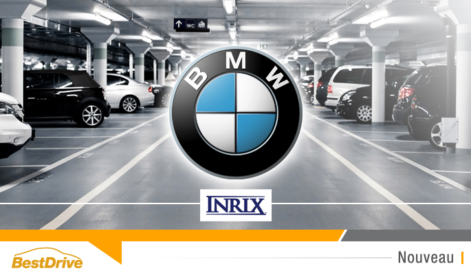 BestDrive - BMW et Inrix trouvent des places de parking