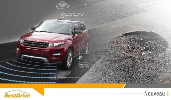 BestDrive - Jaguar Land Rover lutte contre les nids-de-poule