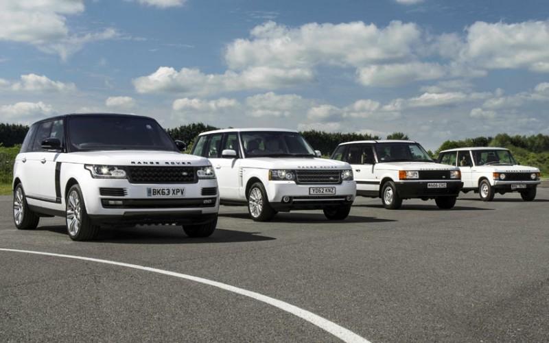 BestDrive - Les 4 générations de Range Rover