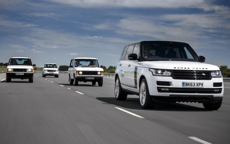 BestDrive - Les 4 générations de Range Rover sur la route