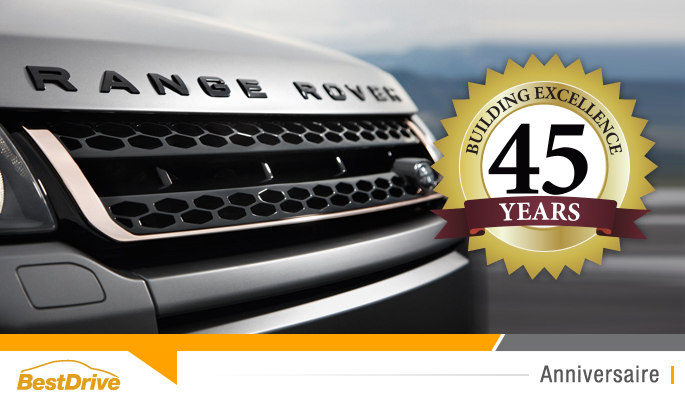 BestDrive - Range Rover 45e anniversaire