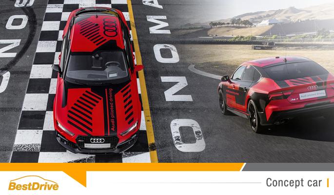 BestDrive - L'Audi RS7 Piloted Driving Concept se rapproche un peu plus du modèle de série 00