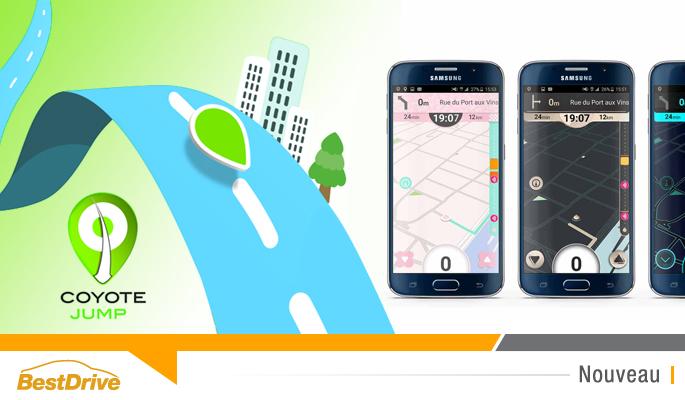BestDrive - Nouvelle appli Coyote Jump concurrente de Waze 00