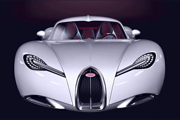 Bugatti Gangloff concept Chiron