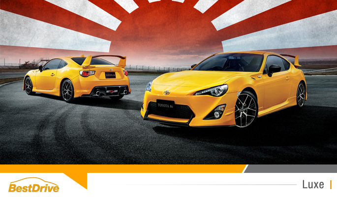 BestDrive - Toyota GT86 Yellow Limited 00