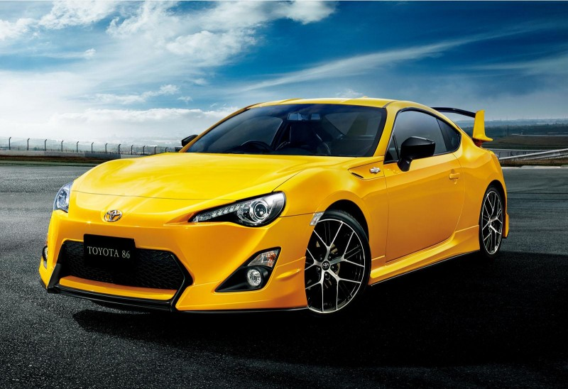 BestDrive - Toyota GT86 Yellow Limited 01
