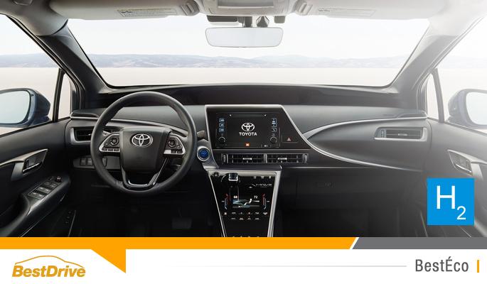 BestDrive - La Toyota Mirai et son moteur à hydrogène arrivent en Europe