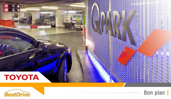 BestDrive - Parking Q-Park moins cher en Toyota hybride