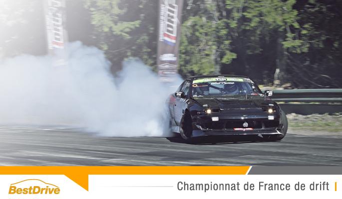BestDrive partenaire du Championnat de France de drift 2015 - 5e round touge de Chamrousse