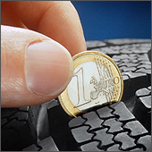BestDrive - Test usure pneu pièce 1 euro