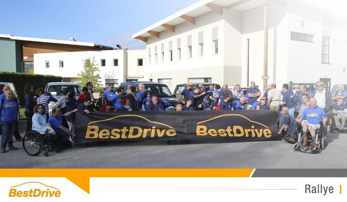 BestDrive partenaire de Handi Cap sur Aventure - Handi Cap sur le Bugey 2015