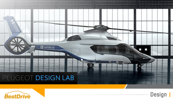 BestDrive - Airbus Helicopter H160 Peugeot Design Lab