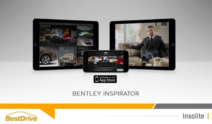 BestDrive - Bentley Inspirator appli Bentayga