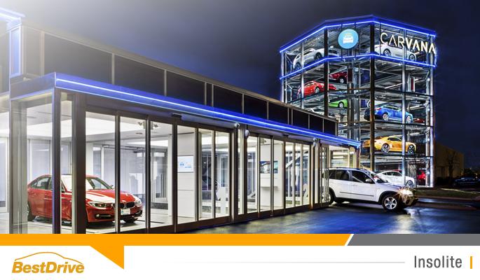 BestDrive - Carvana distributeur de voitures comme un distributeur de bonbons Vending Machine 00