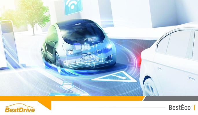 BestDrive - Les voitures connectées réduisent les émissions de CO2