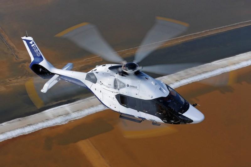 Le H160 en vol