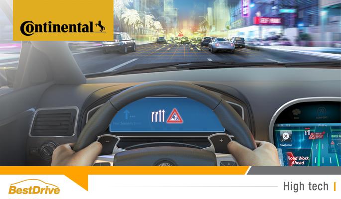BestDrive - Régulateur de vitesse adaptatif équipé du système eHorizon Continental 00