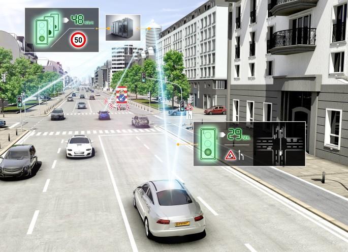 BestDrive - Régulateur de vitesse adaptatif équipé du système eHorizon Continental 01
