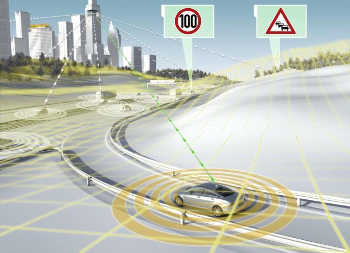BestDrive - Régulateur de vitesse adaptatif équipé du système eHorizon Continental 02