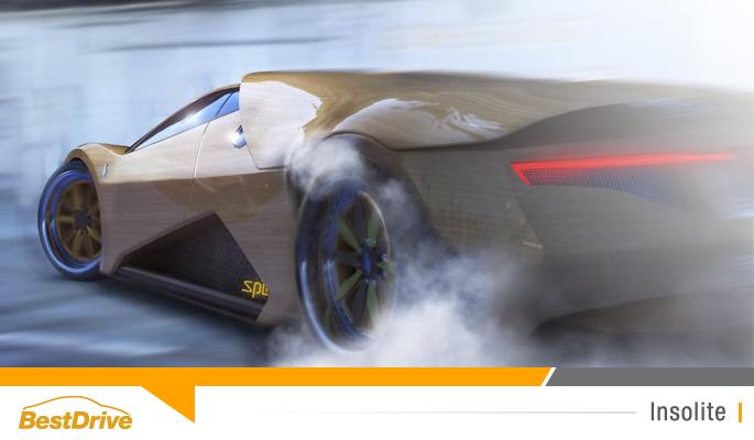 BestDrive - 700HP Splinter by Joe Harmon supercar en bois 00