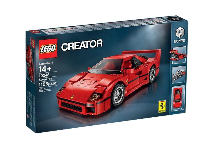 BestDrive - Idées cadeaux Noël passionné voiture Lego Creator Ferrari F40