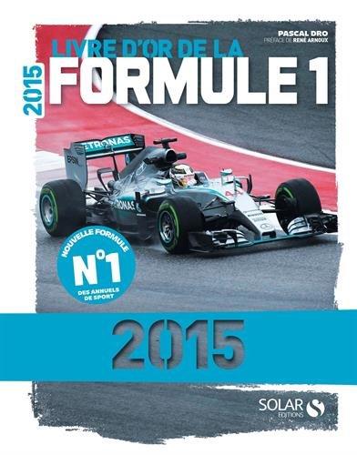 BestDrive - Idées cadeaux Noël passionné voiture Livre d'or Formule 1 2015
