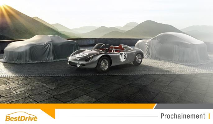 BestDrive - Porsche 718 renaissance d'une légende
