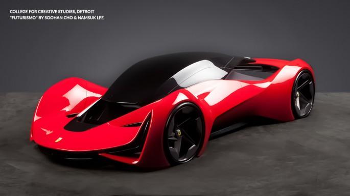BestDrive - A quoi ressemblera la Ferrari de 2040 - 01