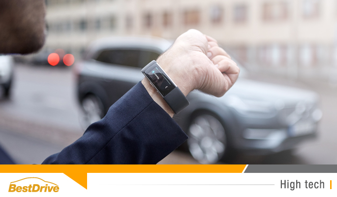 BestDrive - Communiquez avec votre Volvo grâce au bracelet connecté Microsoft Band 2