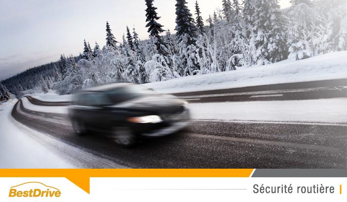 BestDrive - Conseils sécurité routière conduite hiver neige verglas