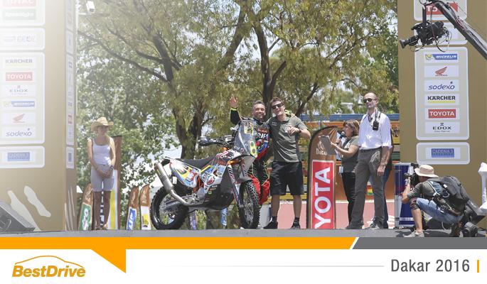 BestDrive - Dakar 2016 - Prologue David Casteu 00