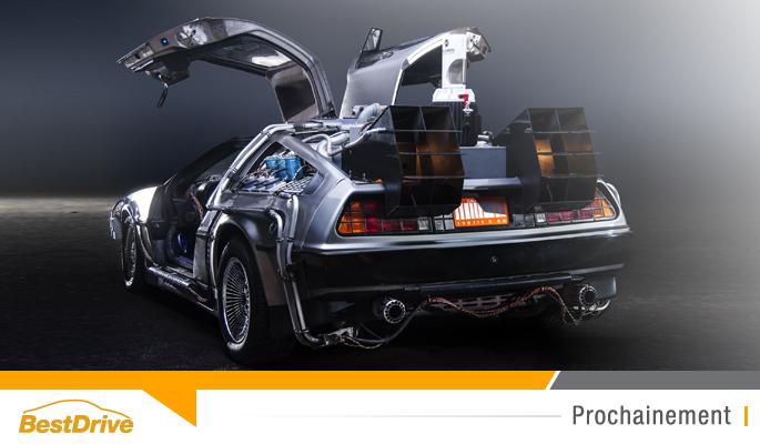 BestDrive - La DeLorean DMC-12 de retour en 2017