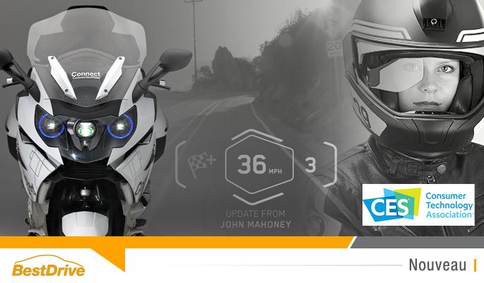 BestDrive - Nouveautés CES 2016 BMW Motorrad 00