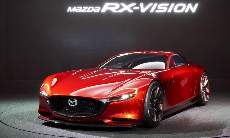 BestDrive - Mazda RX-Vision Grand Prix du Plus beau concept car 2015 ex aequo Porsche Mission e