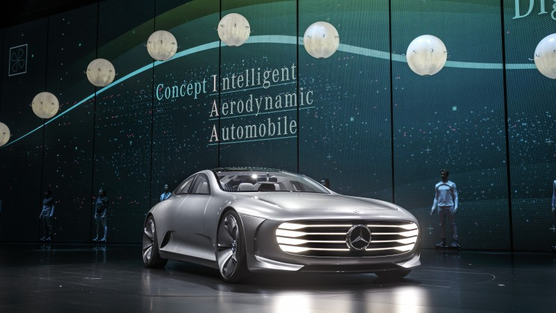 BestDrive - Mercedes IAA Concept Grand Prix The Most Futuristic Cars 2015