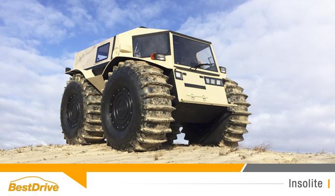 BestDrive - Russian Sherp ATV