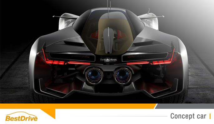 BestDrive - Aero GT concept-car Bell & Ross
