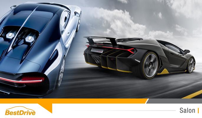 BestDrive - Genève 2016 Bugatti Chiron et Lamborghini Centenario