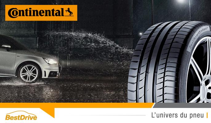 BestDrive - Rappel produits Continental ContiSportContact 5P