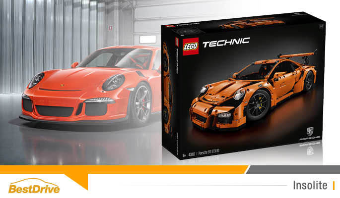 BestDrive - Porsche 911 GT3 RS LEGO 00