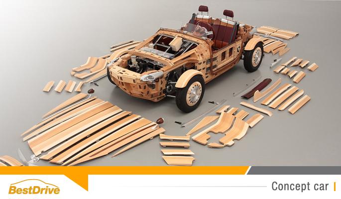 BestDrive - Toyota Setsuna concept car écolo en bois 00