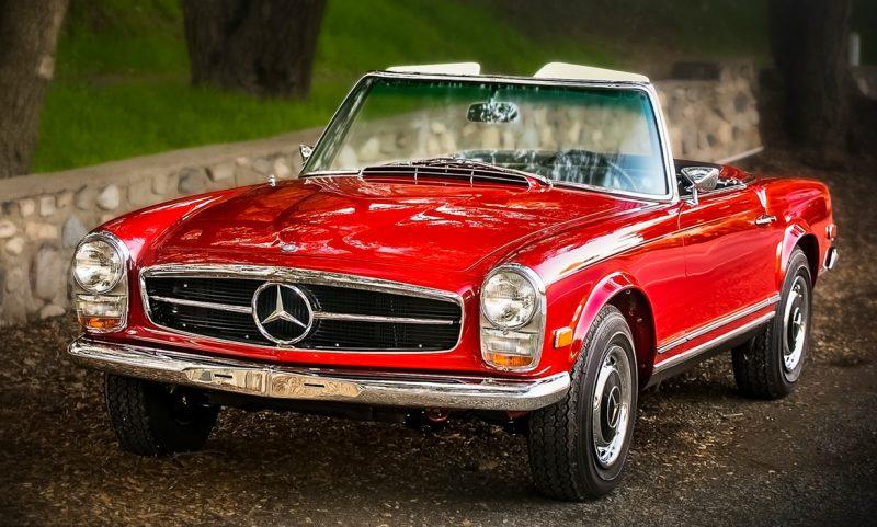 BestDrive - Classic Car Travel Mercedes Benz Pagoda SL