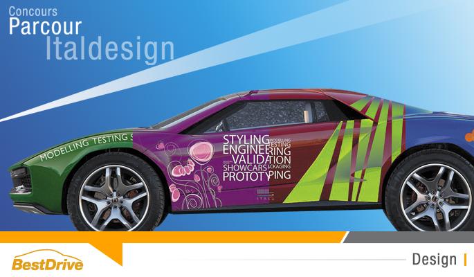 BestDrive - Concours - Habillez le concept Parcour par Italdesign