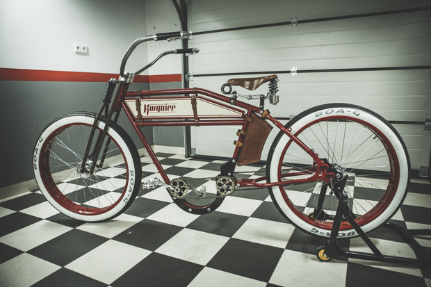 BestDrive - Vélo électrique vintage Cruiser 02
