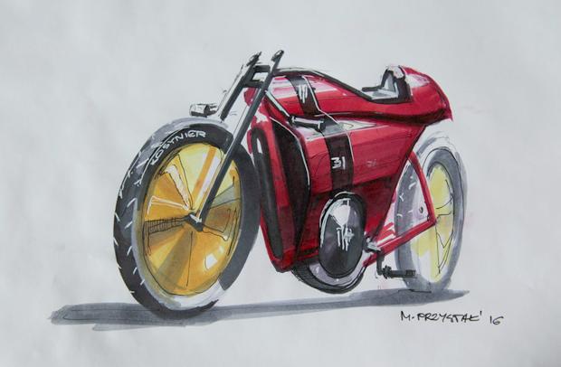 BestDrive - Vélo électrique vintage Speed 05