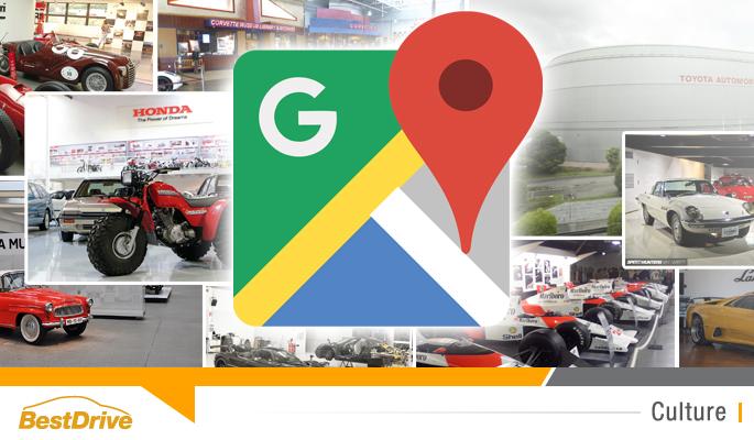 BestDrive - 9 musées automobile à visiter sur Google Map